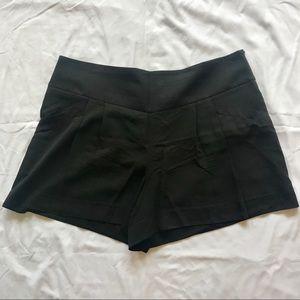 Excellent Loft black dressy shorts, size 12